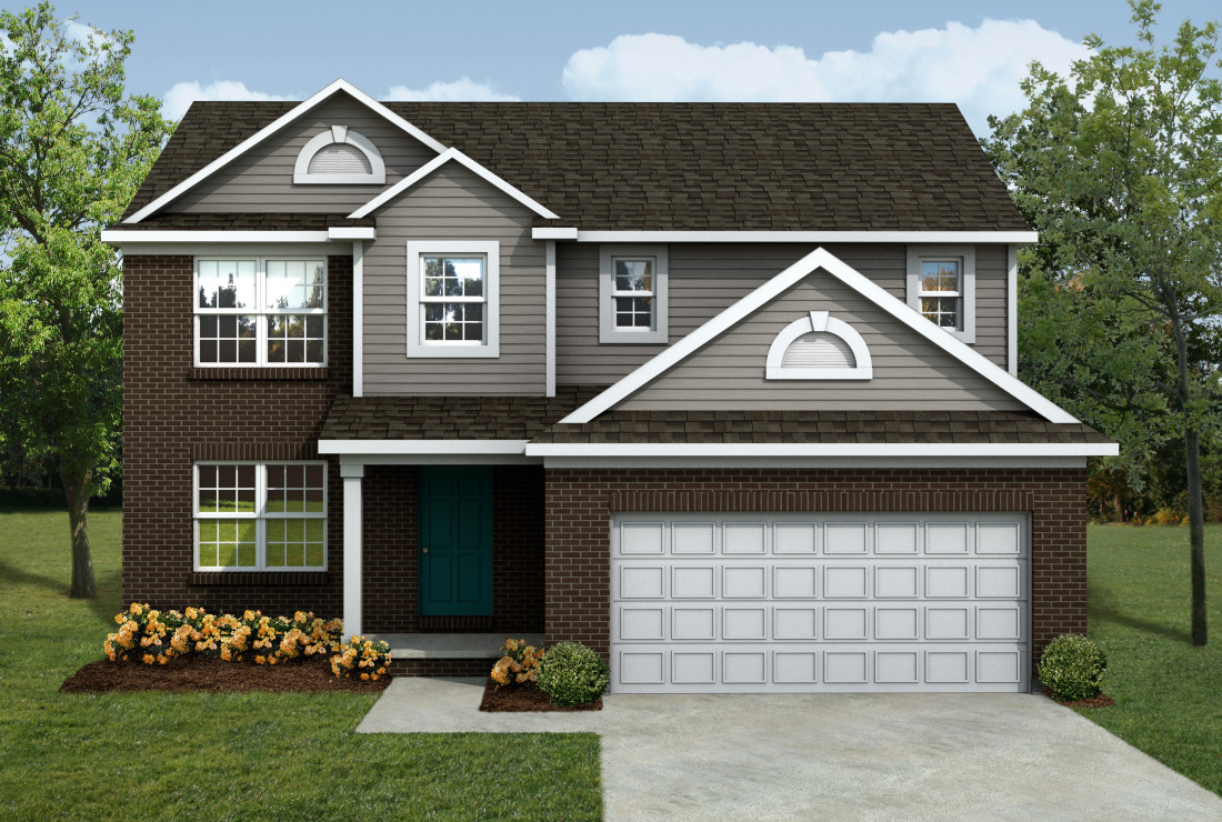 Mi leland front entry lombardo homes for Home builders in michigan