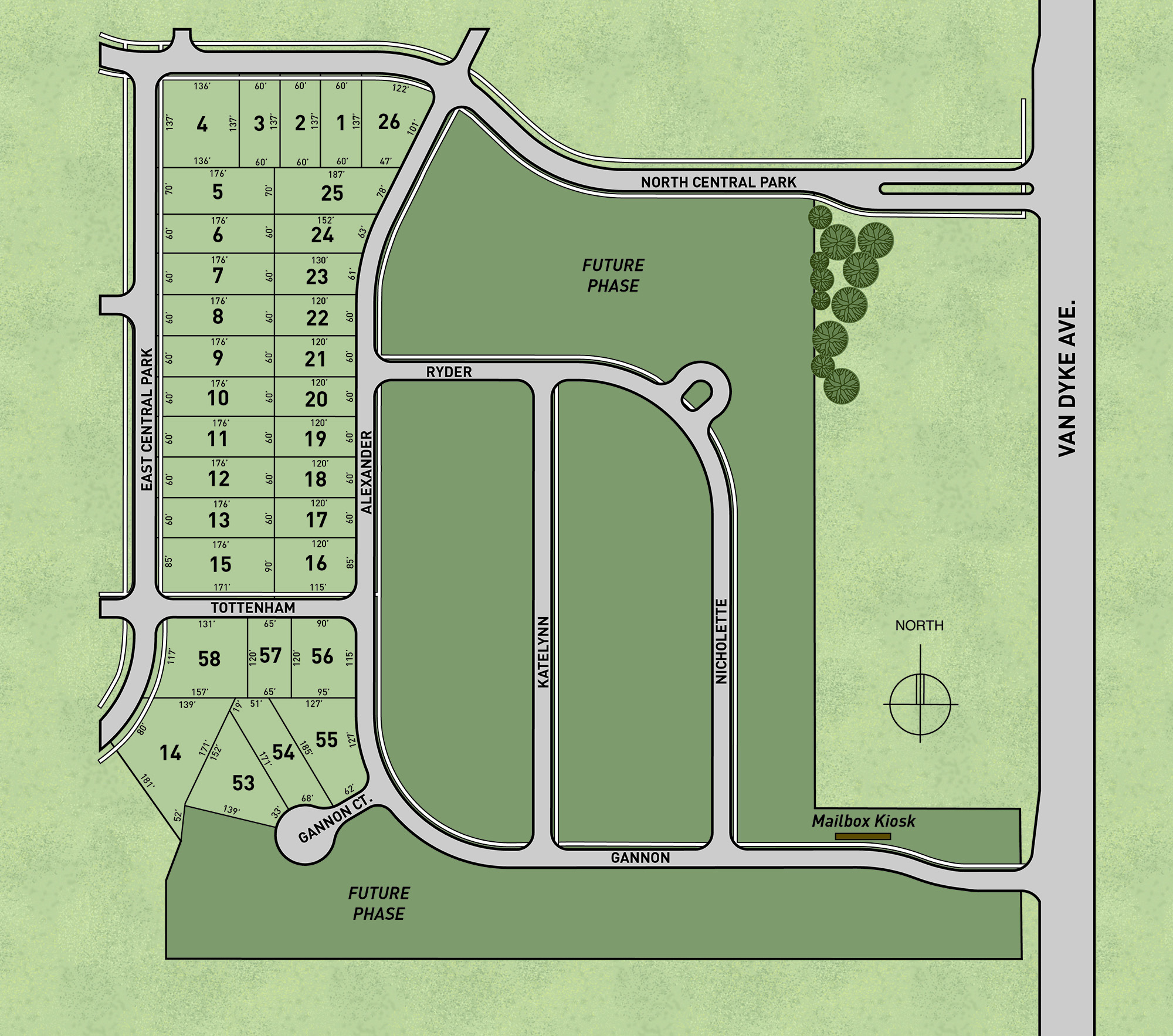 Central Park in Shelby Township – Lombardo Homes Floor Plans