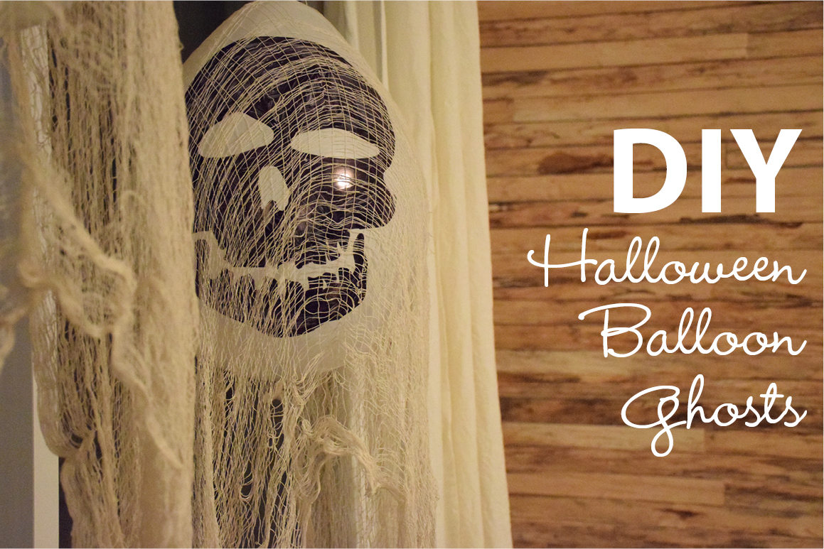 Home Decorating Diy How To Make A Halloween Balloon Ghost