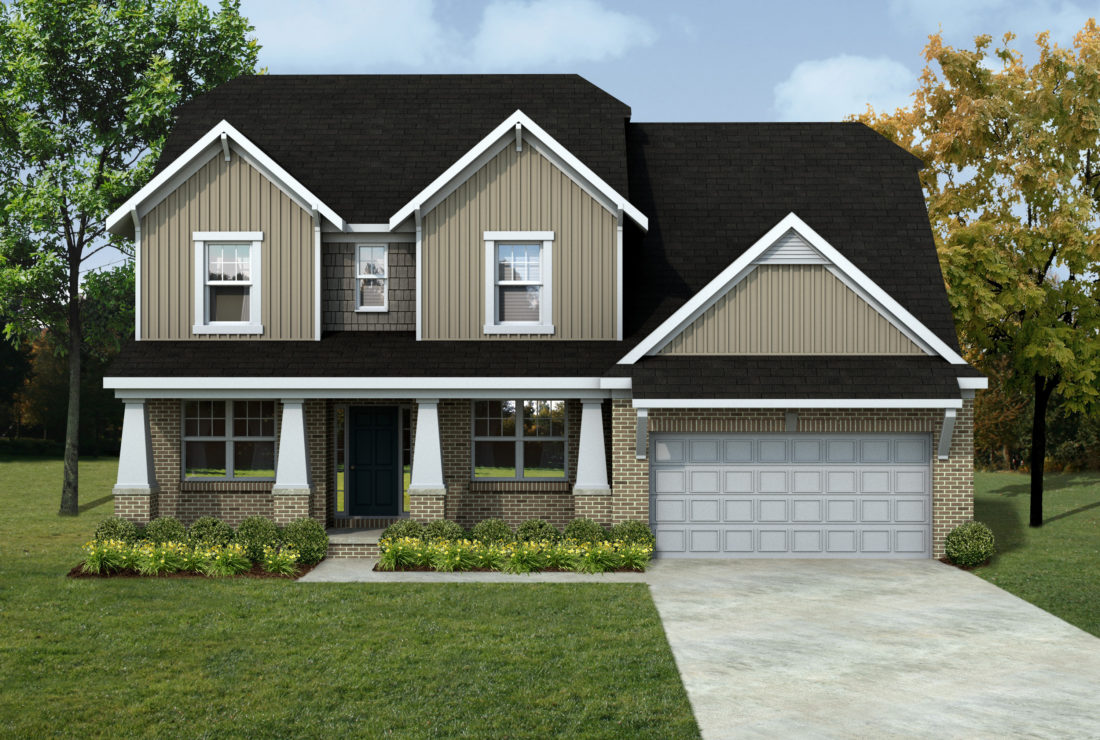 Mi mckinley front entry lombardo homes for Lombardo homes