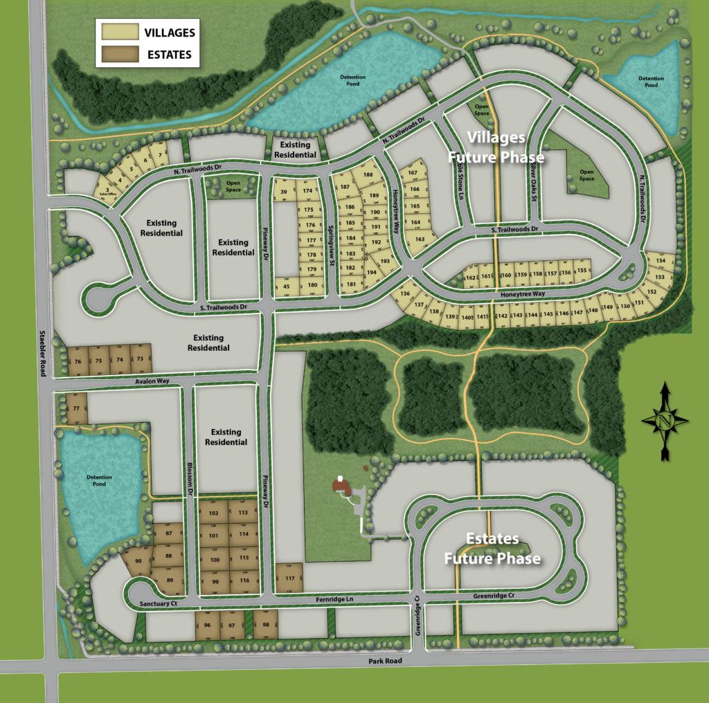 Trailwoods Site Plan